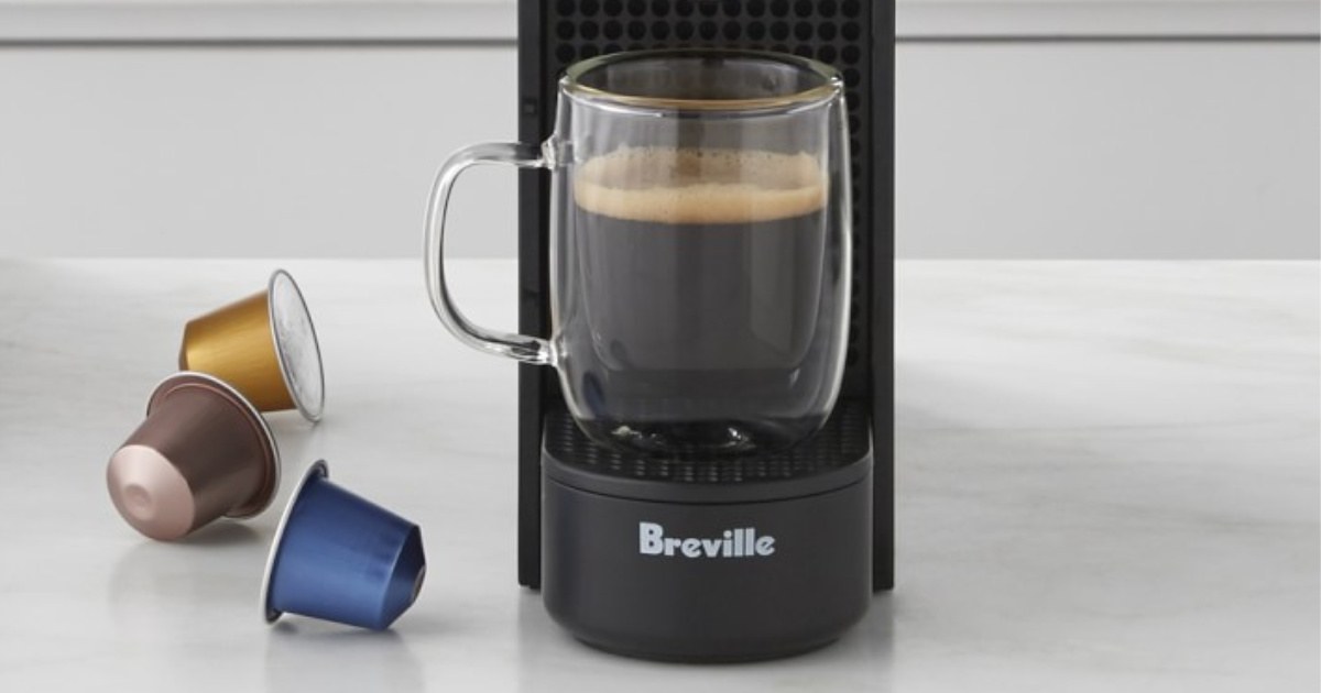 Breville Nespresso Maker with pods