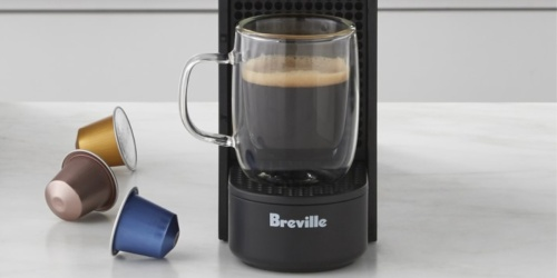 Nespresso by Breville Espresso Machines from $93.99 Shipped on Macys.com (Regularly $158+)