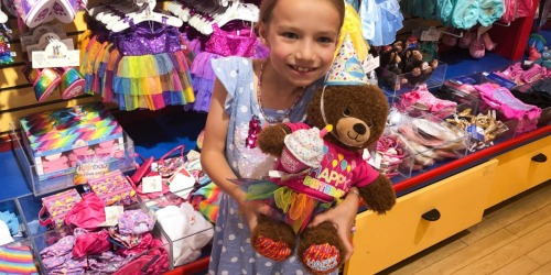 Build-A-Bear Birthday Offer | Pay Your Age for Birthday Treat Bear (As Low As $1)