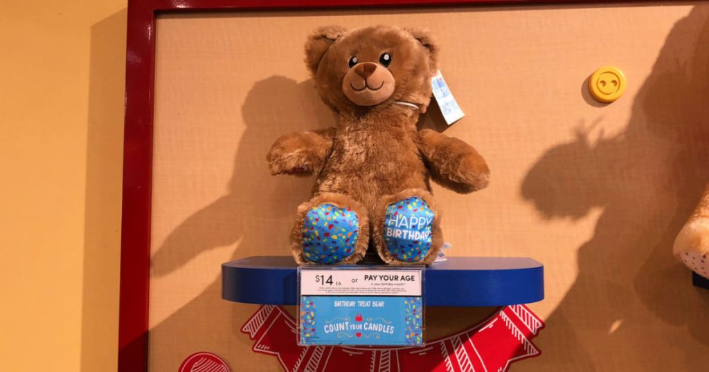 Build-a-Bear Birthday Bear