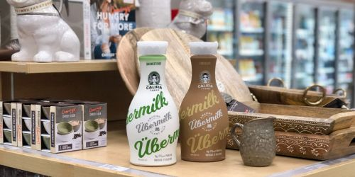 Use Your Phone to Save 50% Off Califia Farms Übermilk at Target (Contains Vitamins, Minerals & Protein)