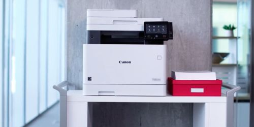Up to 60% Off Canon Laser Printers at Office Depot