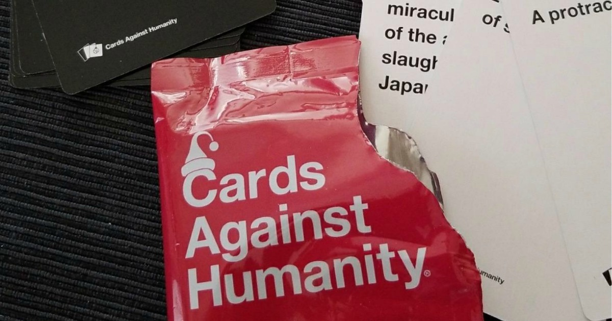 Cards Against Humanity Christmas 2019 Amazon Prime Deal: 50% Off Cards Against Humanity Expansion Packs