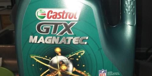 Amazon Prime: Over 50% Off Castrol GTX MAGNATEC Motor Oil 5-Quart Bottle + Free Shipping