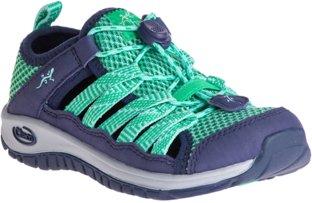 Chacos Big Kids Outcross 2 Shoes in mint