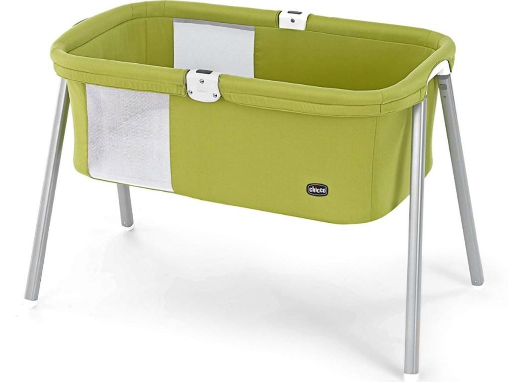 green chicco bassinet