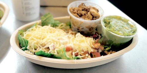 FREE Chipotle Guacamole w/ Any Entrée Purchase