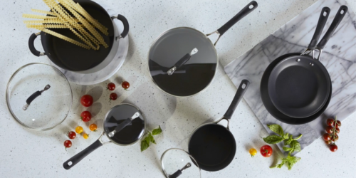 Circulon 10-Piece Hard Anodized Cookware Set Only $87 Shipped (Regularly $150)
