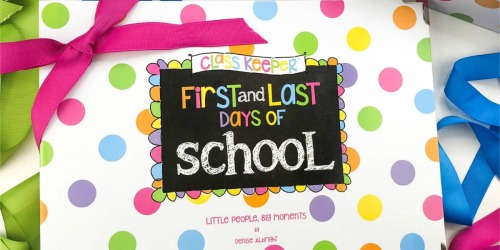 School Days Hard Cover Memory Book & Gift Box Just $29.97 Shipped (Great Reviews)
