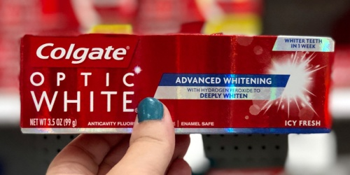 High Value $4/2 Colgate Toothpaste Coupon = 70¢ Each After Target Gift Card