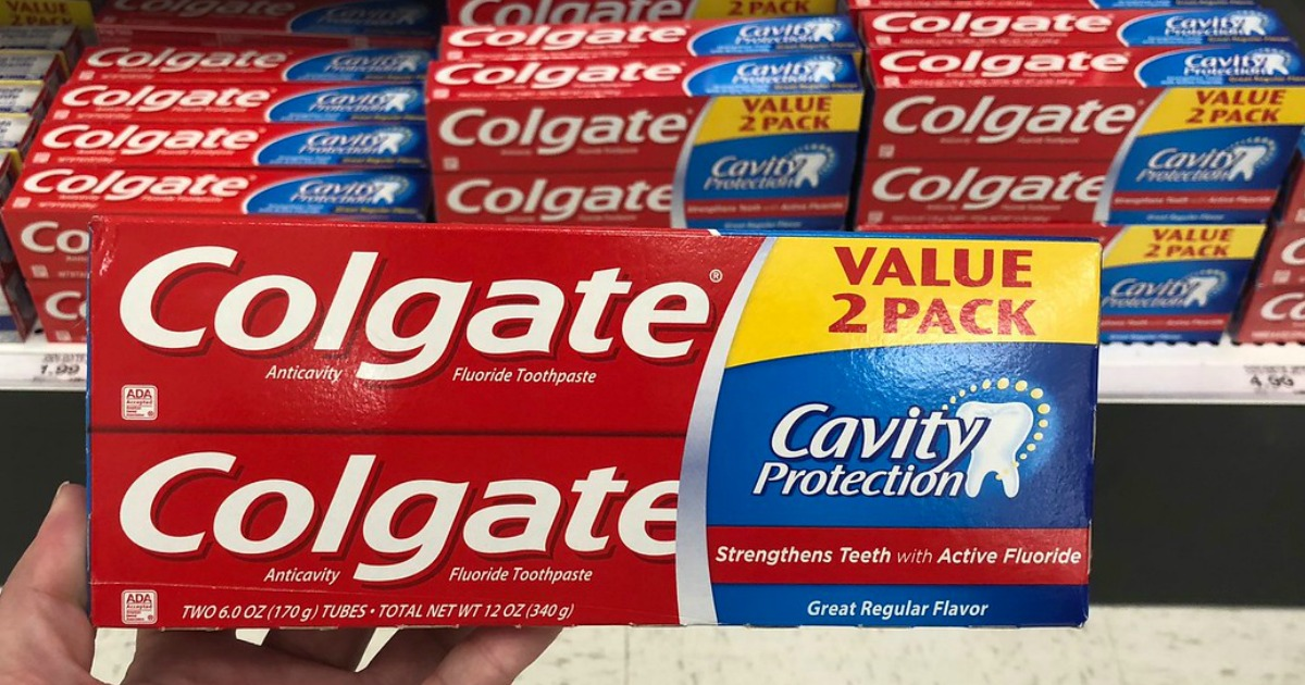 Colgate Twin Pack 6oz Tubes in target