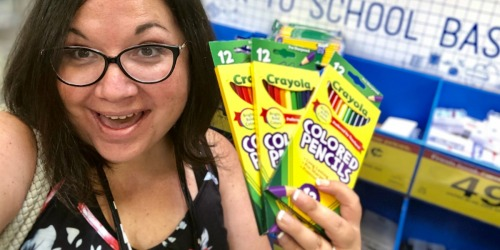 Crayola Colored Pencils Only 49¢ at Kroger on 7/26 & 7/27 | Awesome Stock-Up Price