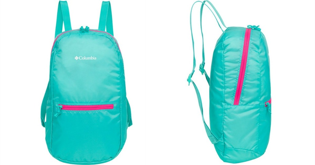 Columbia Pocket Daypack in turquoise