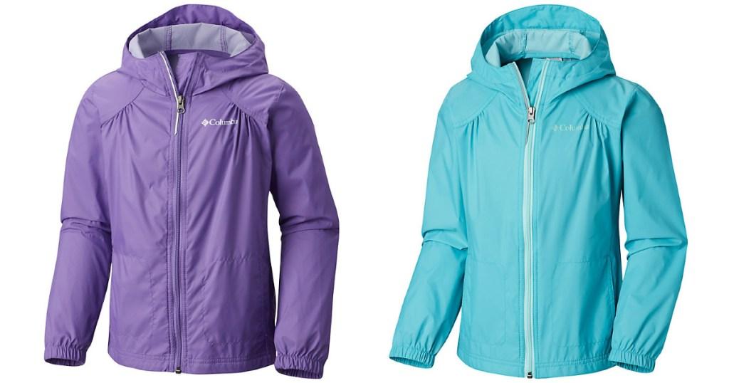 Columbia toddler girls switchback rain jackets