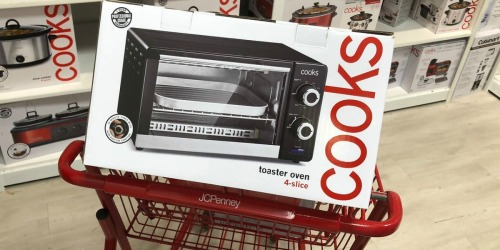 Cooks Small Kitchen Appliances Only $7.99 After JCPenney Rebate (Regularly $50+)
