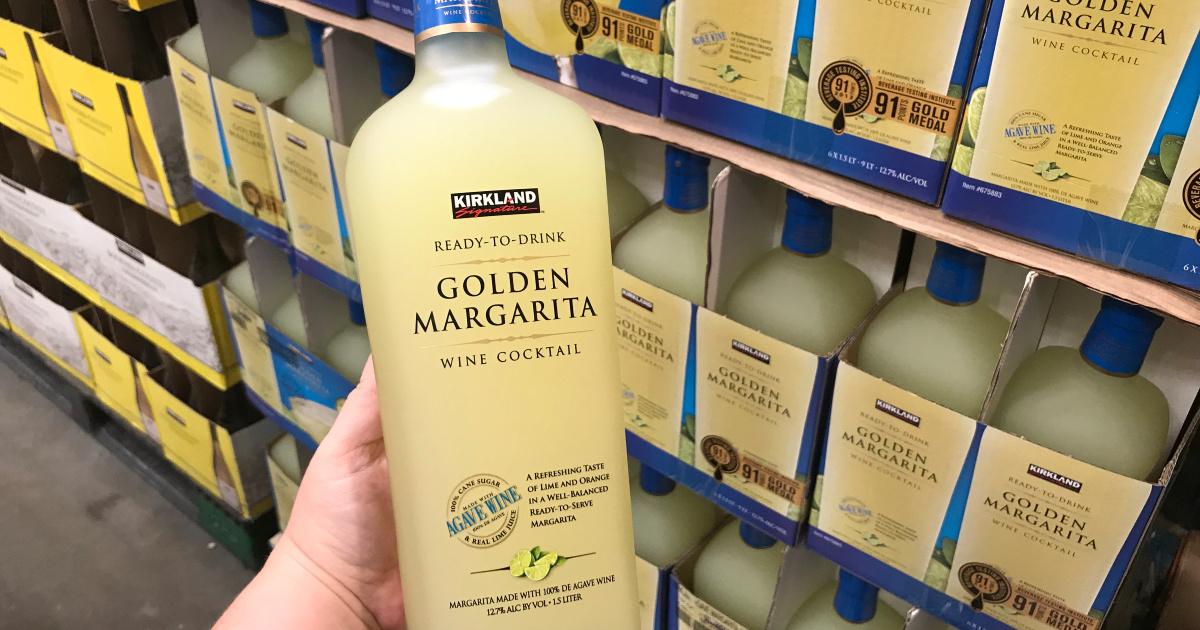 costco big bottle ready to drink golden margaritas