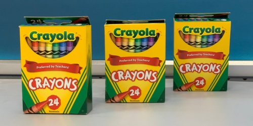 Crayola Crayons 24-Count Just 49¢ Shipped on OfficeDepot.com