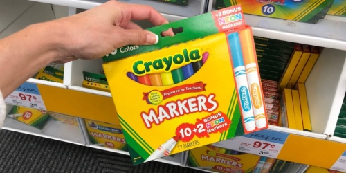 Crayola Markers Bonus Pack Only 97¢ at Staples