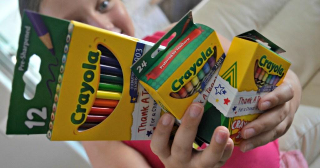 Crayola school supplies
