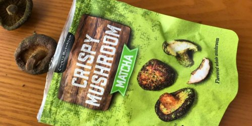 Ditch the Chips & Snack on Mushroom Crisps (Under $2 Per Bag on Amazon)