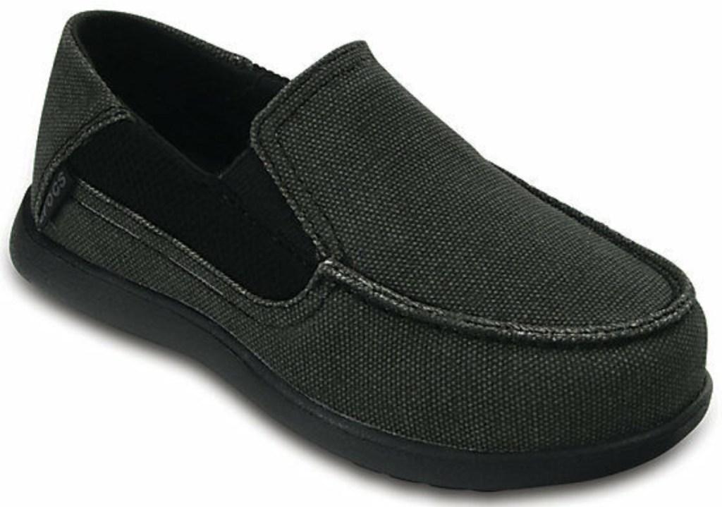 Crocs Kids Santa Cruz II Loafer in black