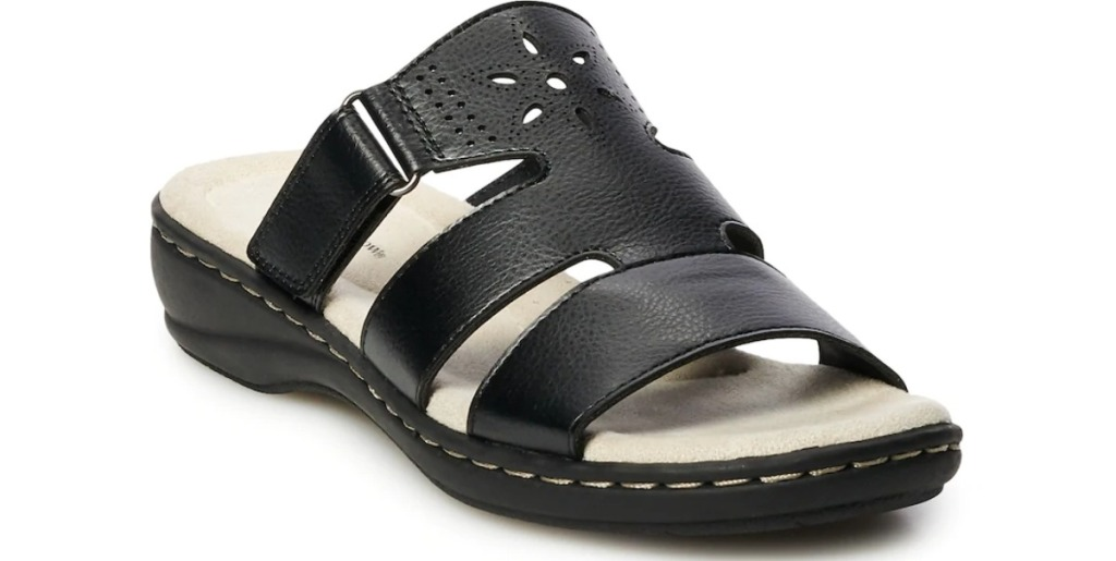 Croft Barrow Clubhouse Sandals in black