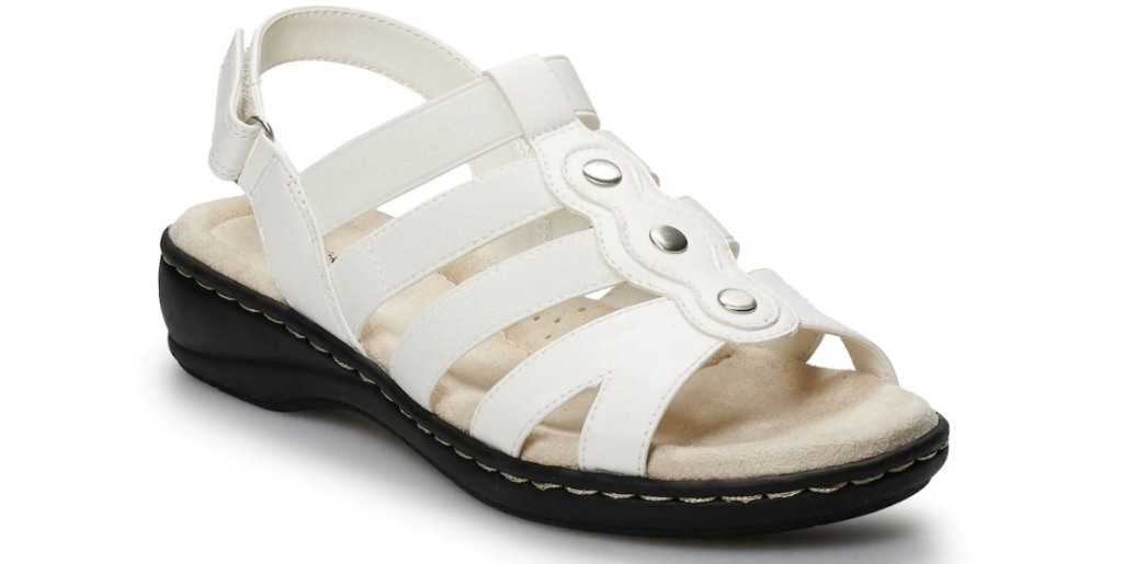Croft Barrow Depot Sandals in white