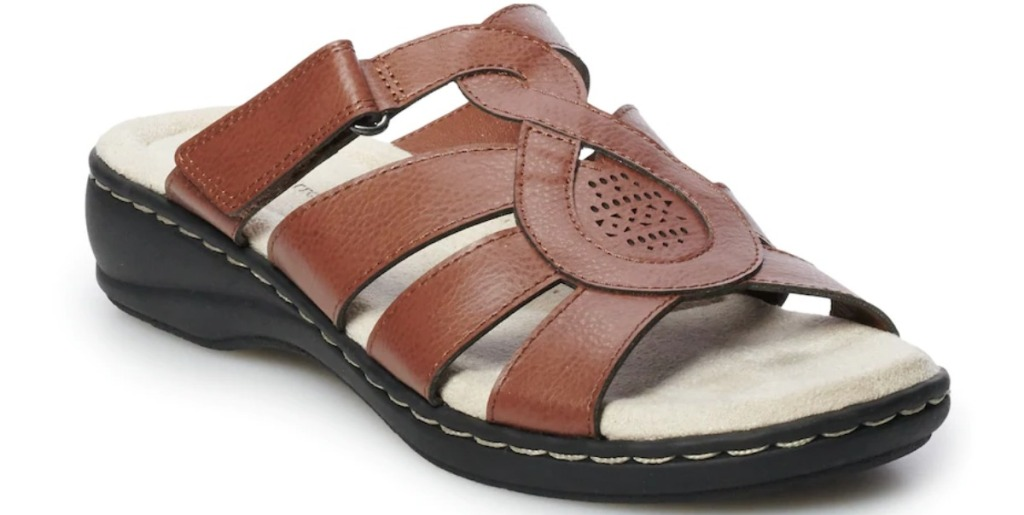 Croft Barrow Dwelling Sandals in tan
