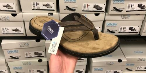 Kohl's Cardholders: Croft & Barrow Men's Sandals Only $14 (Regularly $60)