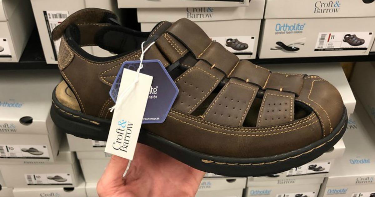 Croft \u0026 Barrow Men's Sandals Only $15.99