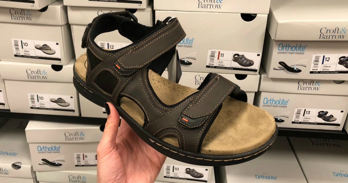 Croft \u0026 Barrow Men's Sandals Only $12
