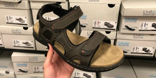 Croft & Barrow Men's Sandals Only $12 at Kohl's (Regularly $60)