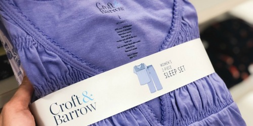 Croft & Barrow Women's Pajama Sets as Low as $8 Shipped for Kohl's Cardholders