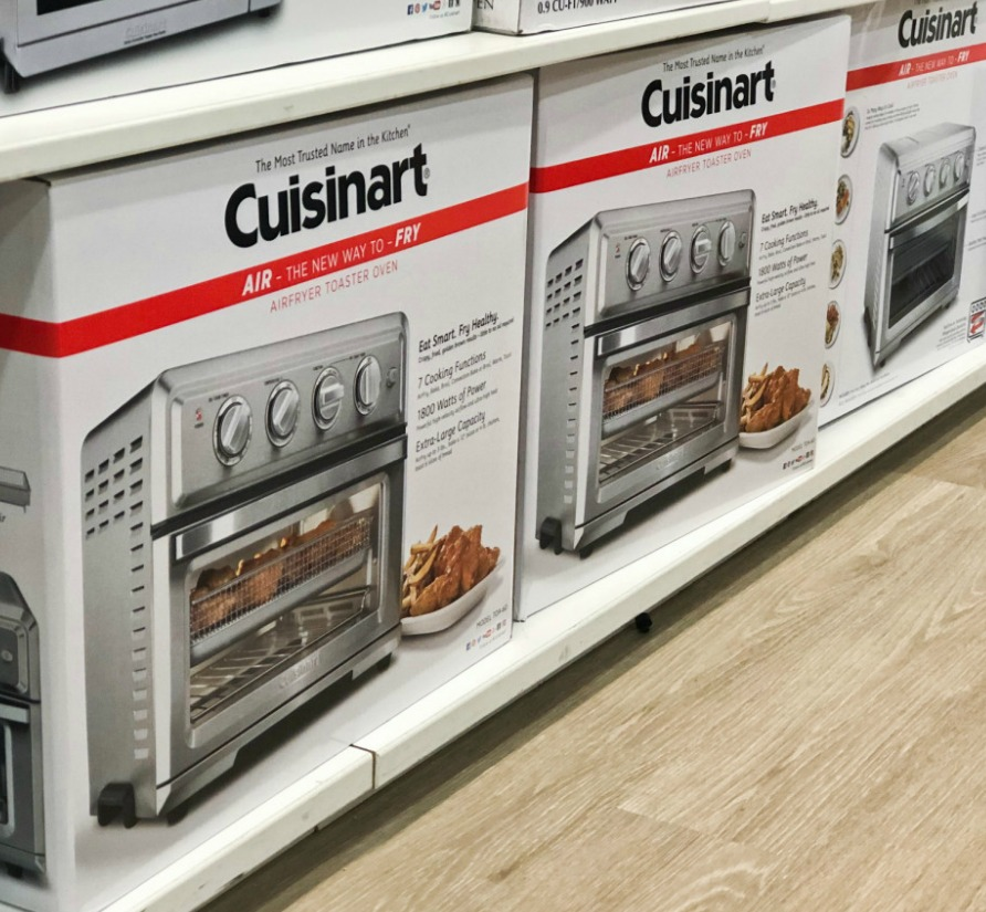 cuisinart air toasters on store shelf