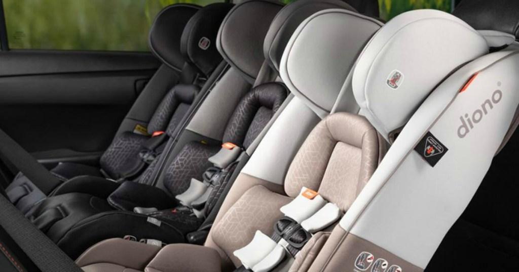 Diono Car Seats in car