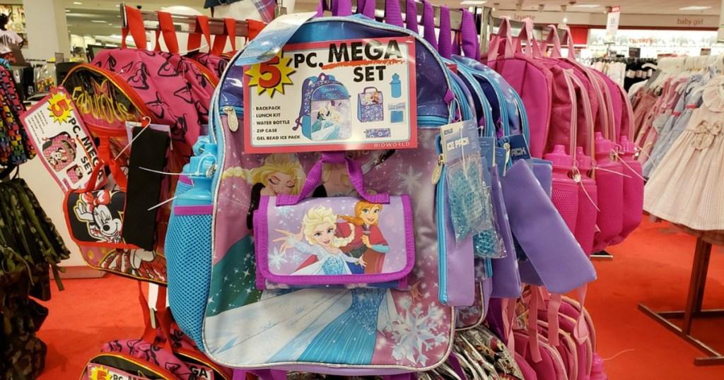 Disney 5-Piece Backpack Set