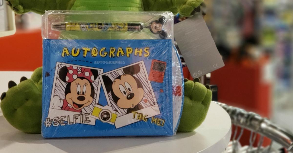Disney Autographs book on store shelf