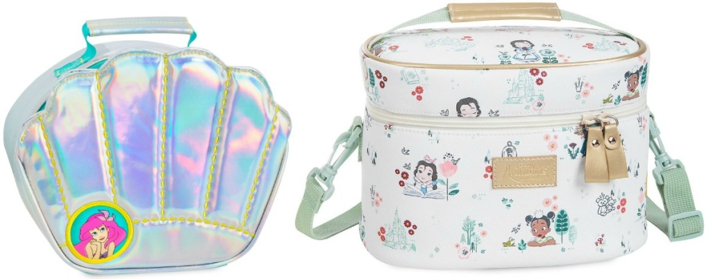 Disney-themed lunch boxes in Disney Princess styles