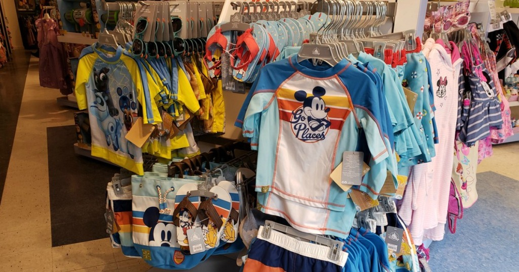 Disney swim apparel and accessories for kids