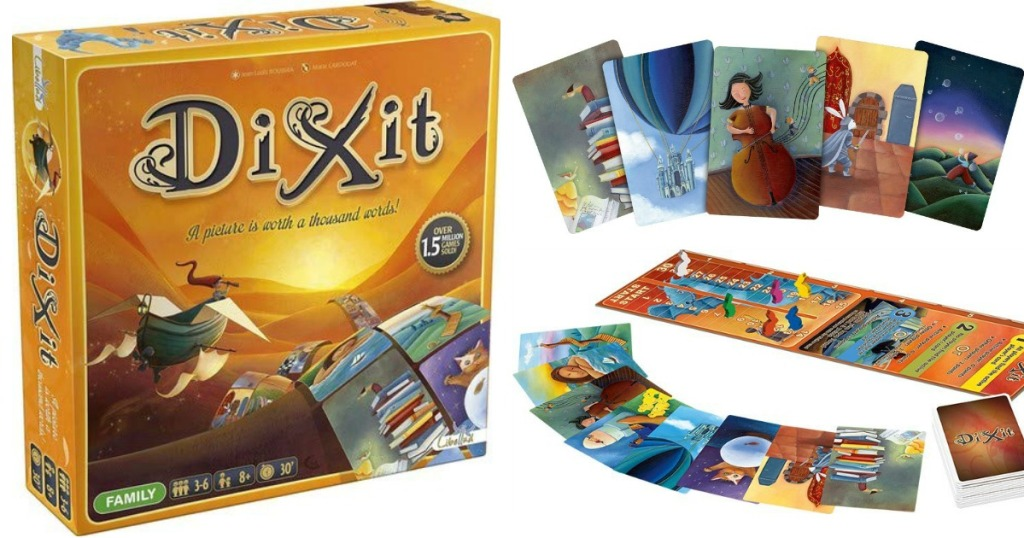 Dixit Board Game box and contents
