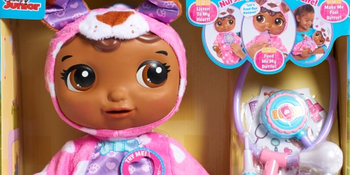 Doc McStuffins Take Care of Me Nursey Pal Only $20 at Walmart.com (Regularly $50)