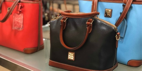 Dooney Pebble Grain Satchel Only $119 Shipped (Regularly $248) + More