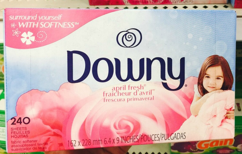 Box of Downy April Fresh scent in store