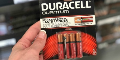 Duracell AAA Quantum Alkaline Batteries 6-Pack Only $3.50