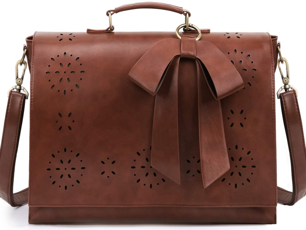 ECOSUSI Women's Briefcase WITH BOW