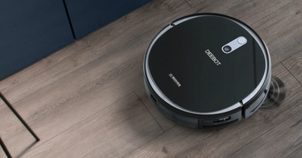 ECOVACS DEEBOT Robotic Vacuum Cleaner Only $149 99 Shipped