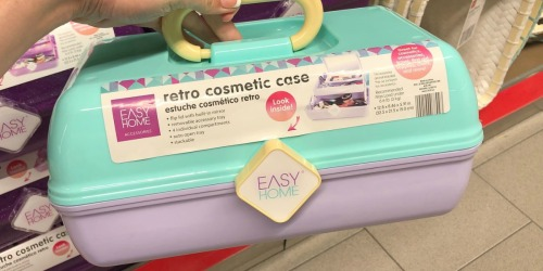 Retro Cosmetic Organizers Only $7.99 at ALDI (Caboodles Look-Alike)