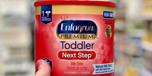 Free Enfagrow Toddler Formula Sample