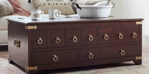 Pottery Barn Friends Collection Now Available | Including Rachel's Famous Apothecary Table