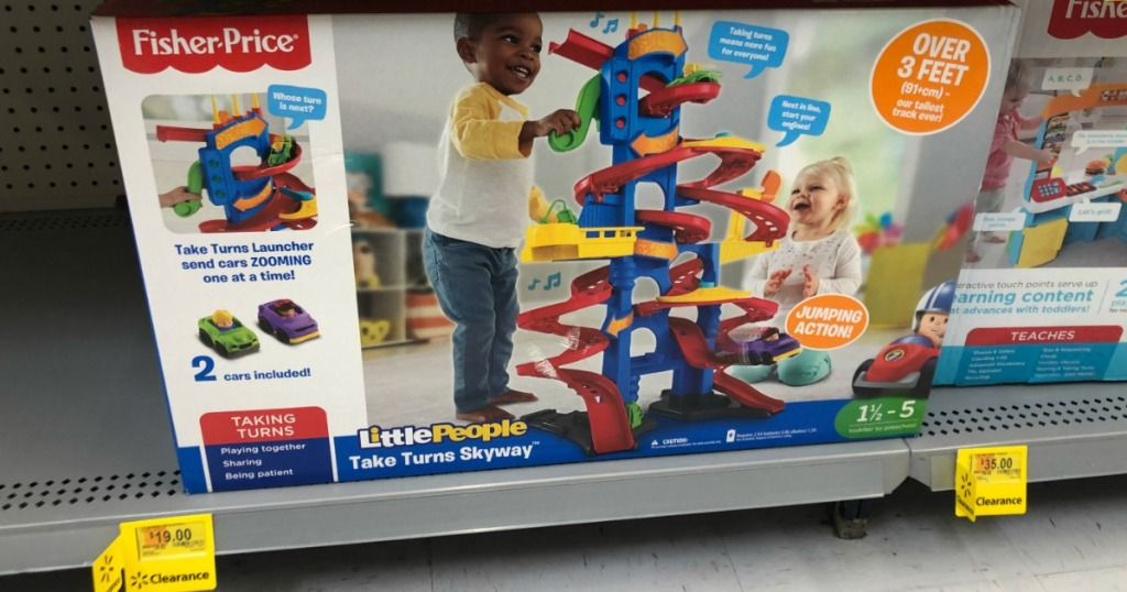 Fisher Price Take Turns Skyway on shelf